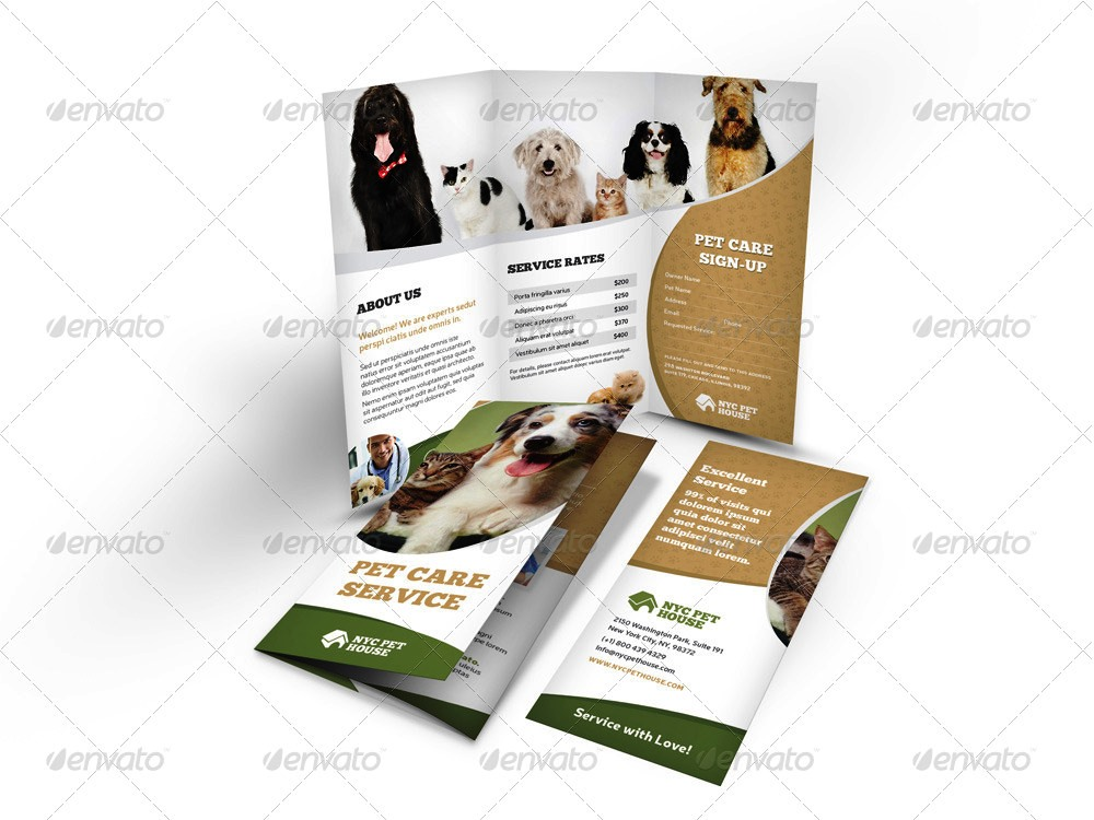 pet brochure promotion strategies to get your business