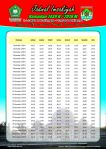 Jadwal Imsyakiyah Ramadan 2018 - Kota Lubuklinggau - Sumatera Selatan